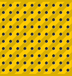 peg board seamless pattern texture perforated vector image