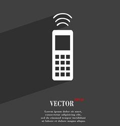Remote control icon symbol Flat modern web design vector