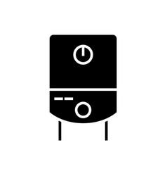 gas tank water boiler icon vector image