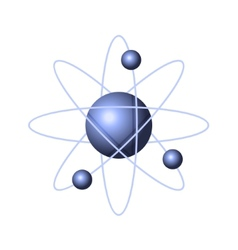 Model of abstract atom structure vector