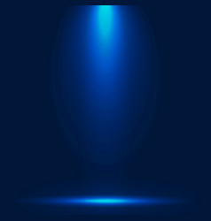 Abstract luxury blue gradient with lighting vector