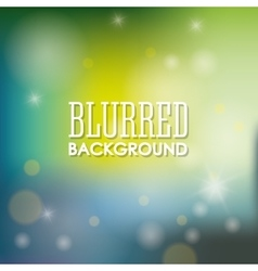 Background design Blurred icon Colorful vector image