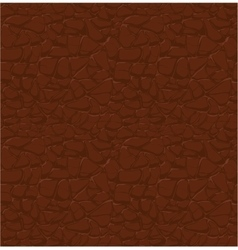 Brown leather pattern seamless relief vector