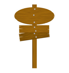 Brown wood notices icon vector