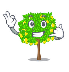 call me lemon tree in the pot character vector image