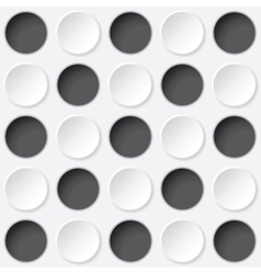 circles texture vector image