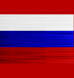 concept russian flag red blue white background vector image