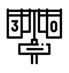 game match board icon outline vector image