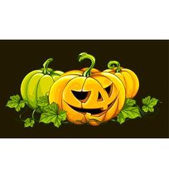 Halloween picture vector image
