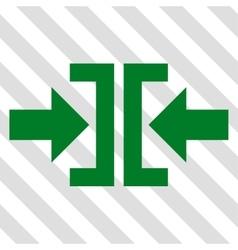 Press Horizontal Direction Icon vector