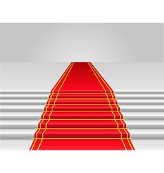 Red carpet 02 vector