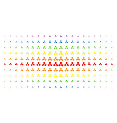 Shrink arrows spectrum halftone matrix vector