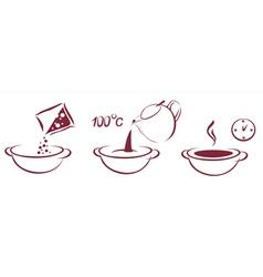 Soup schema vector