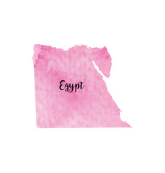 abstract egypt map vector image
