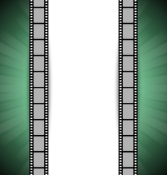 film strip template vector image vector image