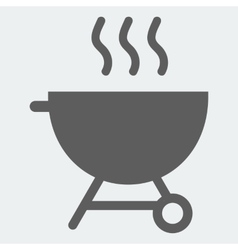 Brazier icon vector