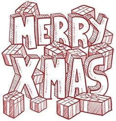 Christmas vector image