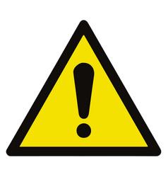 General hazard symbol sign warning sign vector