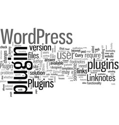 How to use linknotes plugins vector