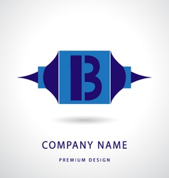 Letter B logo icon design template elements vector