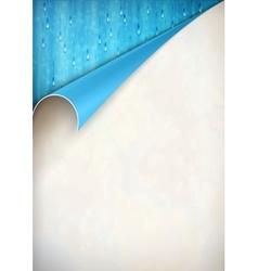 Paper Curled Corner Background vector image