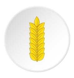 Wheat icon cartoon style vector image vector image
