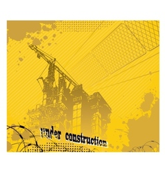Under construction2 vector image vector image