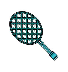 Sport tennis racket vector