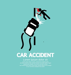 Car Accident vector image vector image