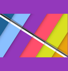 abstract background colorful setskew type vector image