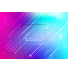 abstract colorful background with geometric shapes vector image