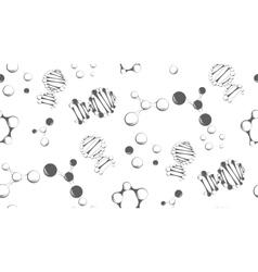 Abstract molecular background vector