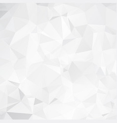 abstract white geometric background with vector image