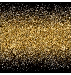 Background with gold gradients texture on black vector