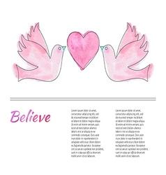 Breast Cancer Awareness Month Background vector
