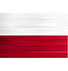 concept polish flag white red background with vector image