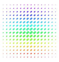 Free tag shape halftone spectrum grid vector