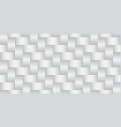 weave shiny metal seamless background vector image