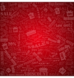 Discount background Sale vector image