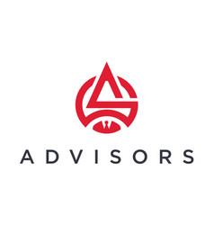 Advisors logo vector