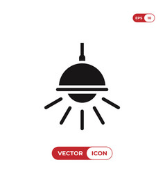 chandelier icon vector image