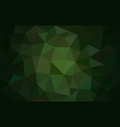 multicolor green low poly background abstract vector image