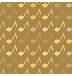 seamless abstract background with notes vector image