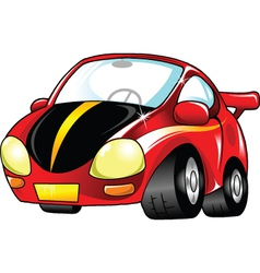 small red car vector image