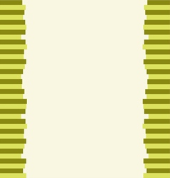 The Modern Horizontal of Green Lines Background vector image