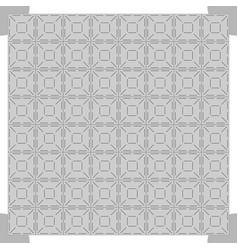 Grey dance floor background vector