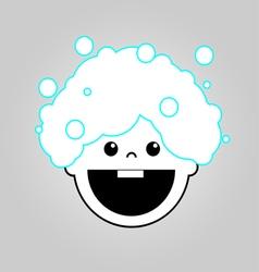 Baby bath icon vector image vector image
