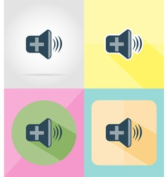service flat icons 34 vector image vector image