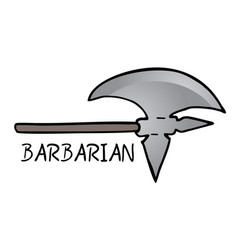 Ax barbarian vector