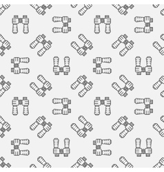 Binoculars seamless pattern vector